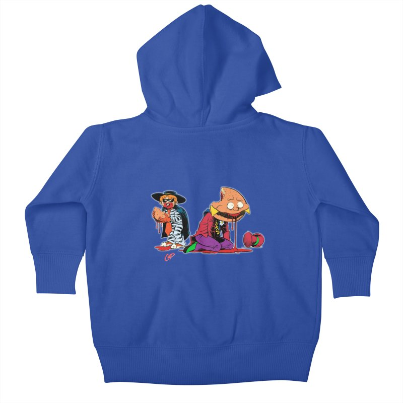DESIRE FULFILLED Kids Baby Zip-Up Hoody by artofcoop's Artist Shop