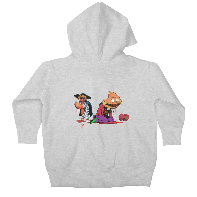 DESIRE FULFILLED Kids Baby Zip-Up Hoody by artofcoop's Artist Shop