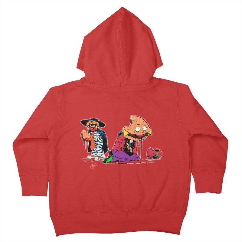 DESIRE FULFILLED Kids Toddler Zip-Up Hoody by The Art of Coop