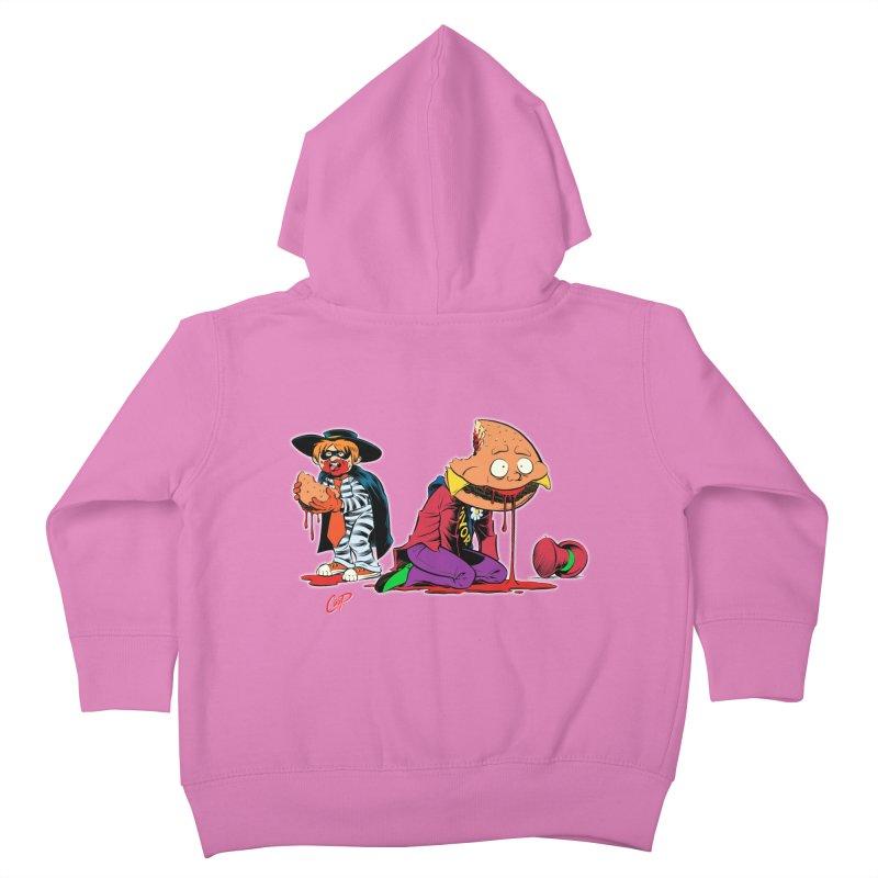 DESIRE FULFILLED Kids Toddler Zip-Up Hoody by artofcoop's Artist Shop