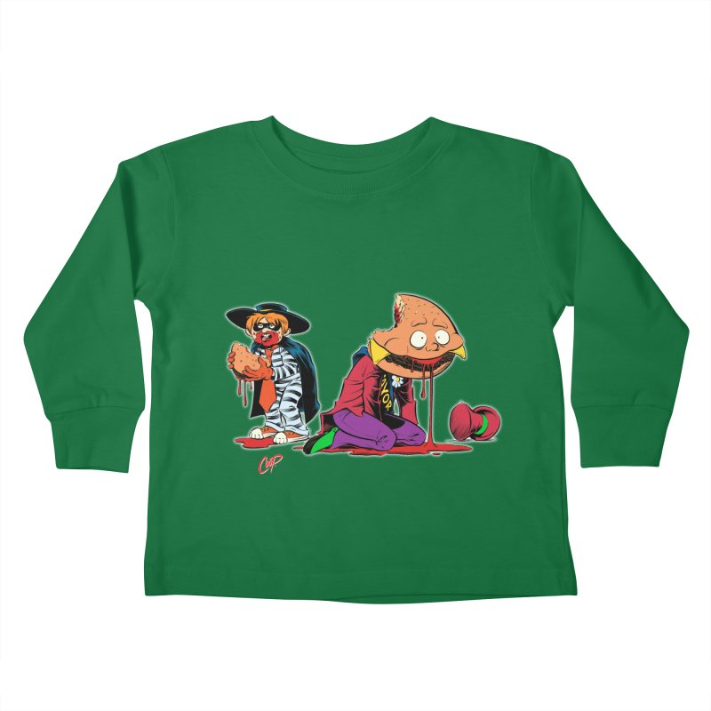 DESIRE FULFILLED Kids Toddler Longsleeve T-Shirt by The Art of Coop