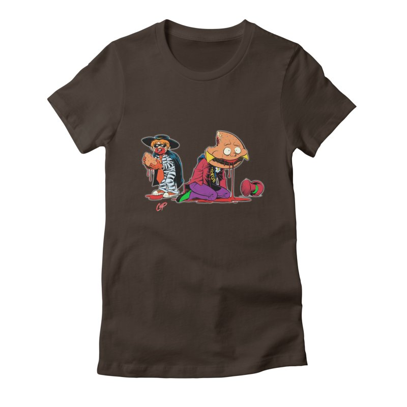 DESIRE FULFILLED Women's Fitted T-Shirt by artofcoop's Artist Shop