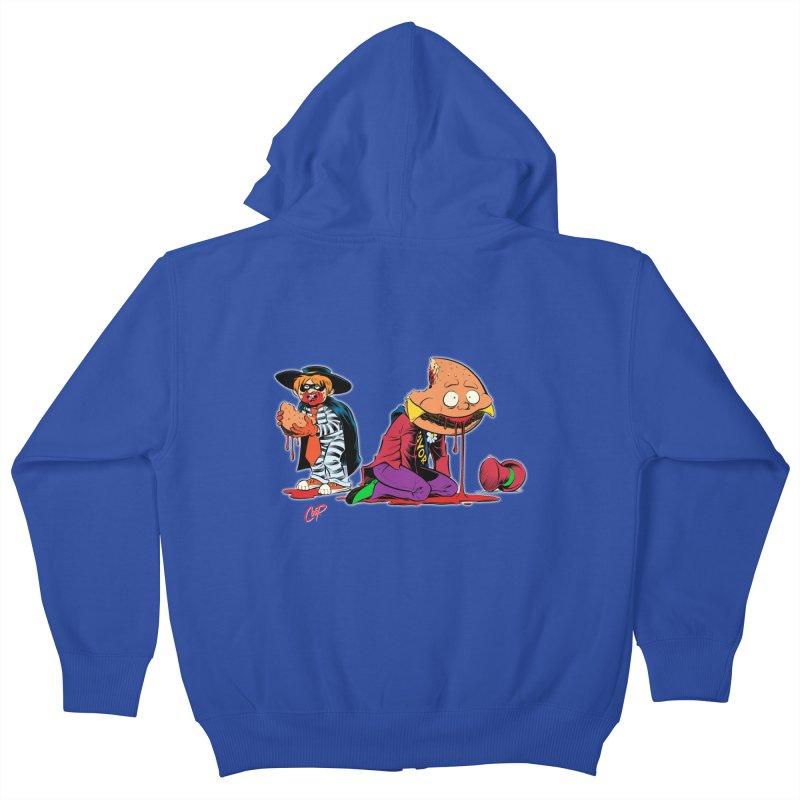 DESIRE FULFILLED Kids Zip-Up Hoody by artofcoop's Artist Shop