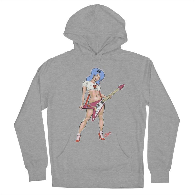 ROCK N ROLLER Women's Pullover Hoody by artofcoop's Artist Shop