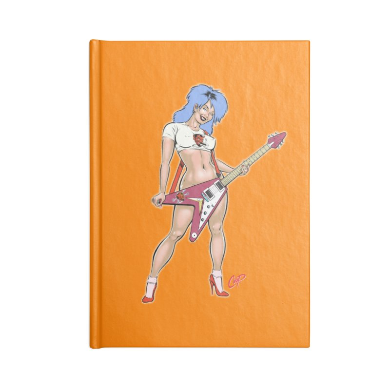 ROCK N ROLLER Accessories Notebook by artofcoop's Artist Shop