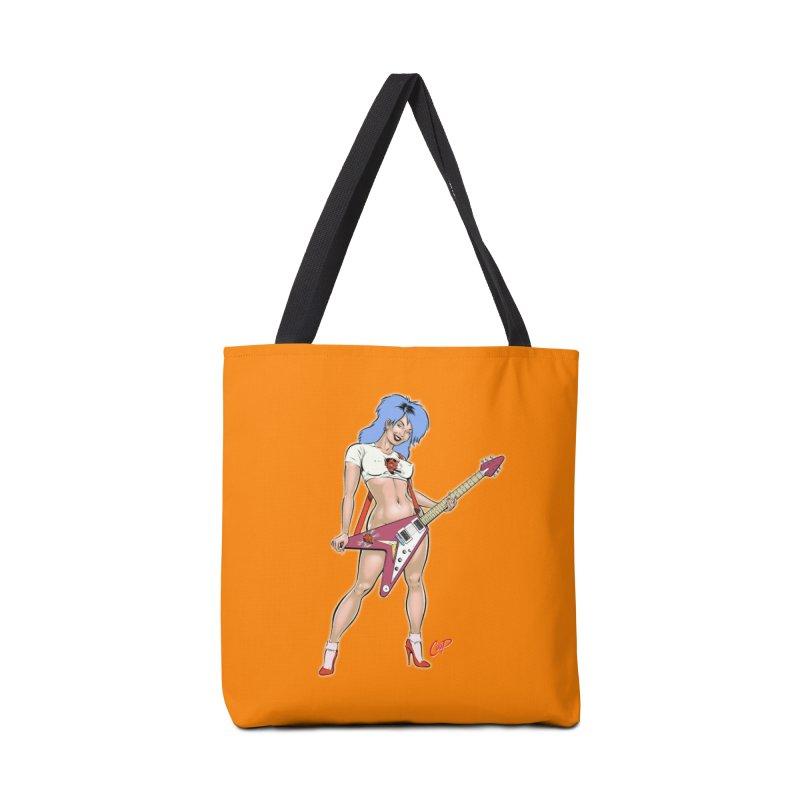 ROCK N ROLLER Accessories Bag by artofcoop's Artist Shop