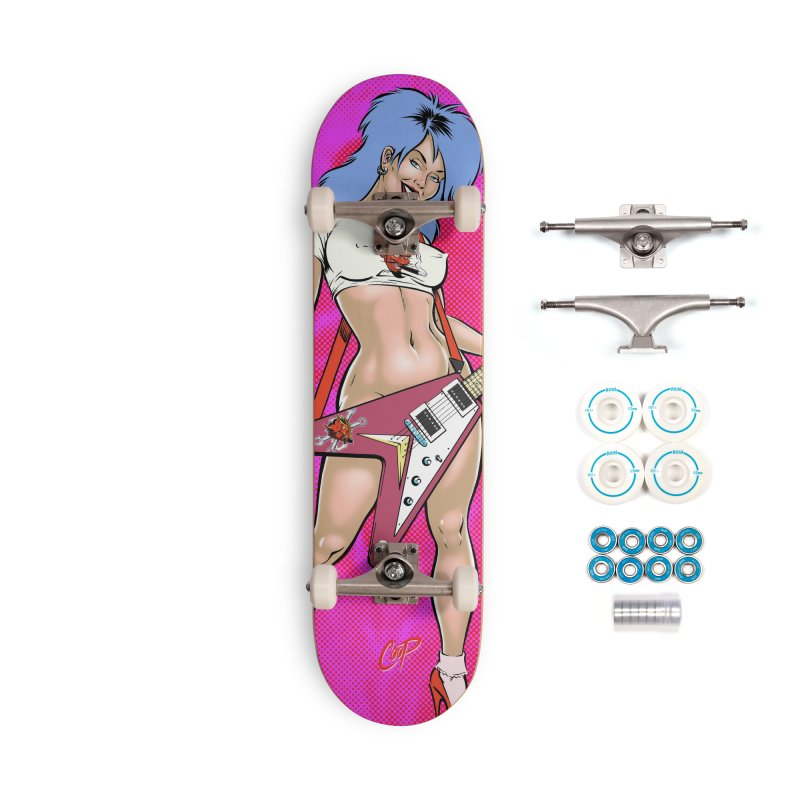 ROCK N ROLLER Accessories Complete - Basic Skateboard by The Art of Coop