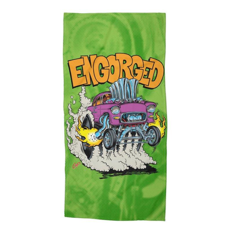 ENGORGED II Accessories Beach Towel by artofcoop's Artist Shop