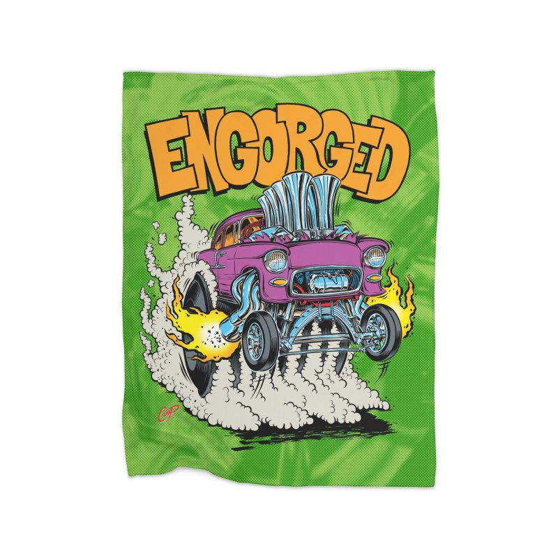 ENGORGED II Home Blanket by artofcoop's Artist Shop