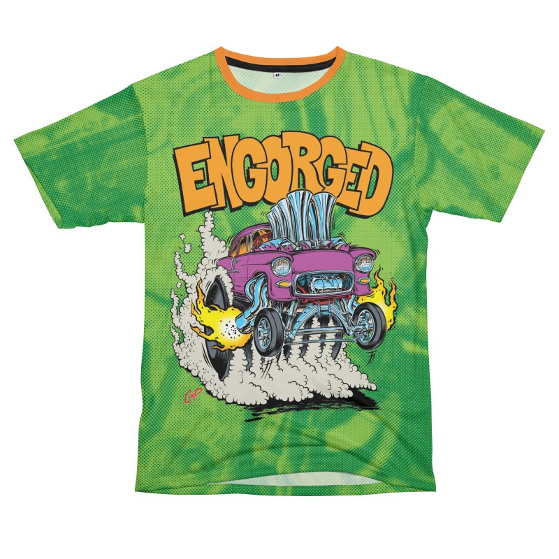 ENGORGED II Men's T-Shirt Cut & Sew by The Art of Coop