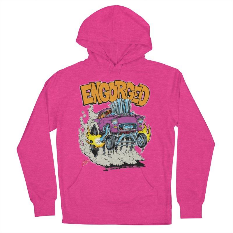 ENGORGED II Women's Pullover Hoody by artofcoop's Artist Shop