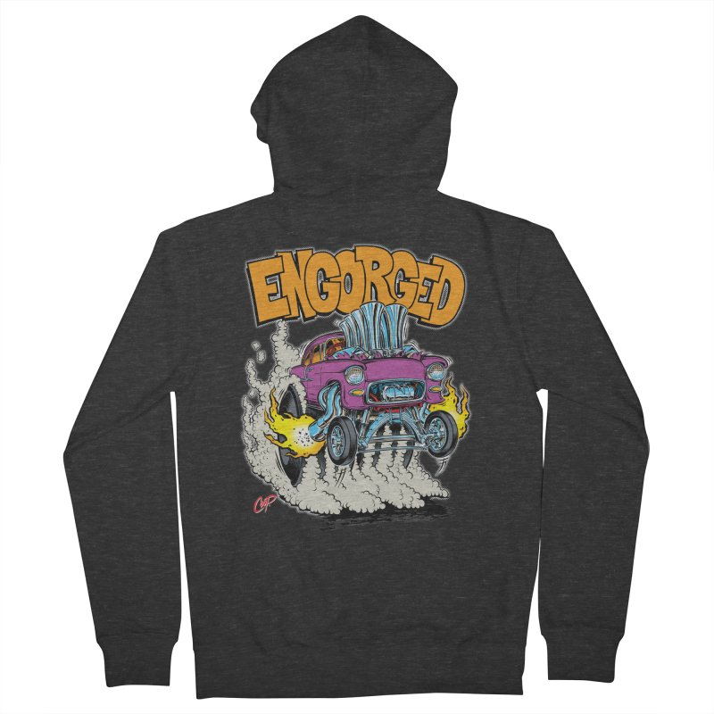 ENGORGED II Women's French Terry Zip-Up Hoody by The Art of Coop