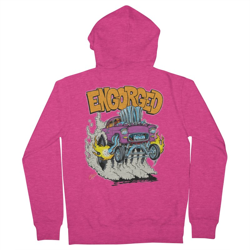 ENGORGED II Women's Zip-Up Hoody by artofcoop's Artist Shop