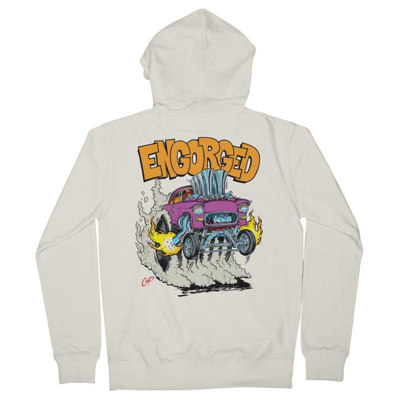 ENGORGED II Women's Zip-Up Hoody by artofcoop's Artist Shop
