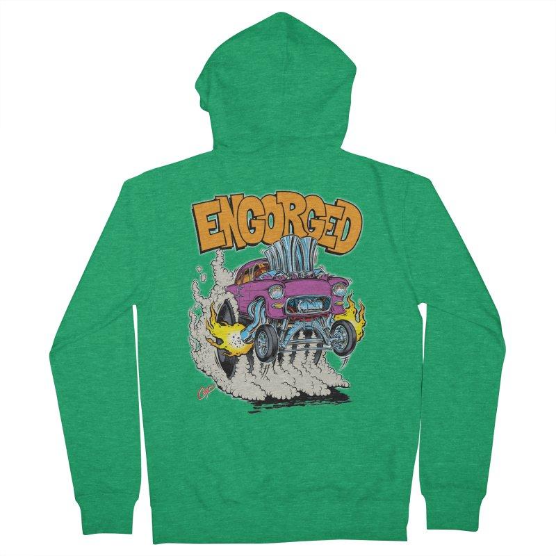 ENGORGED II Men's Zip-Up Hoody by artofcoop's Artist Shop