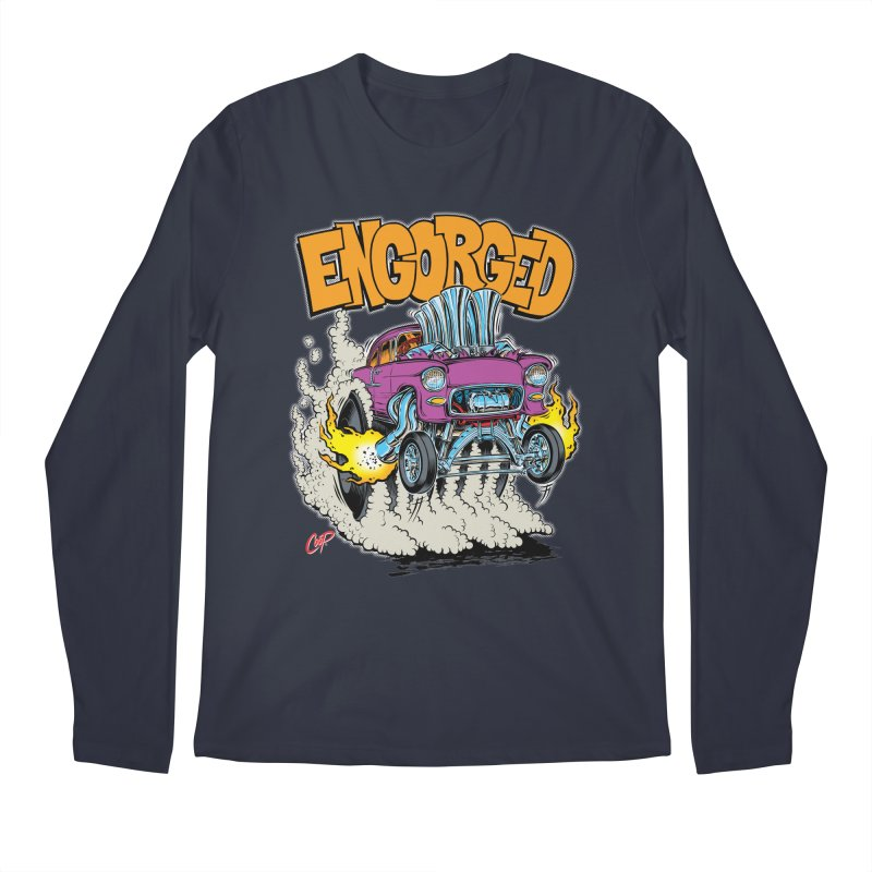 ENGORGED II Men's Longsleeve T-Shirt by artofcoop's Artist Shop