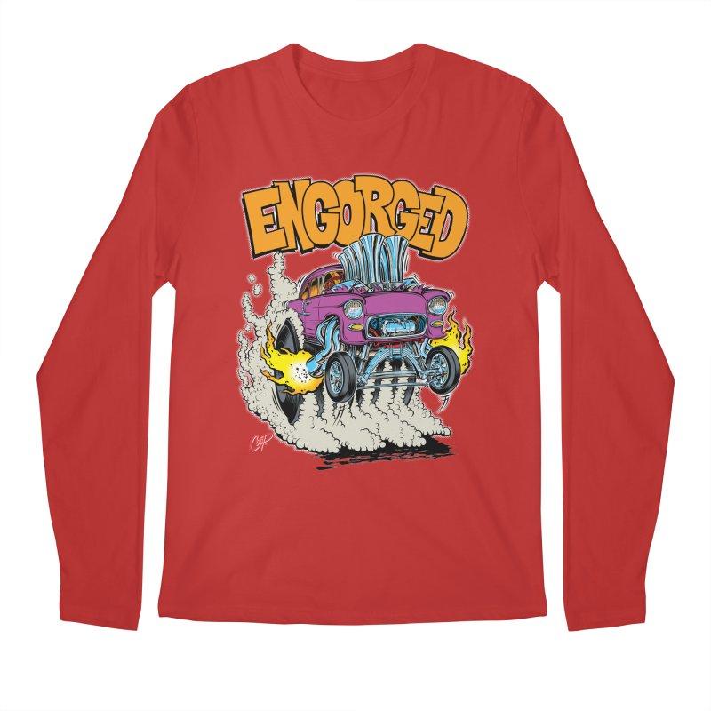 ENGORGED II Men's Longsleeve T-Shirt by artofcoop's Artist Shop