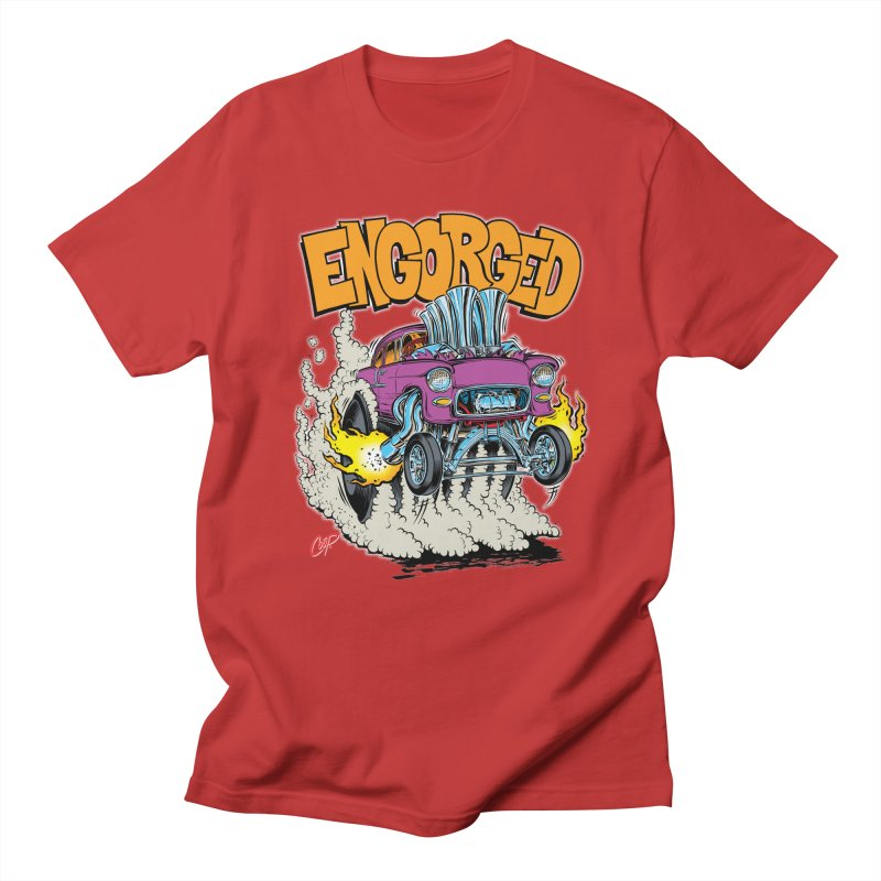 ENGORGED II Men's T-shirt by artofcoop's Artist Shop