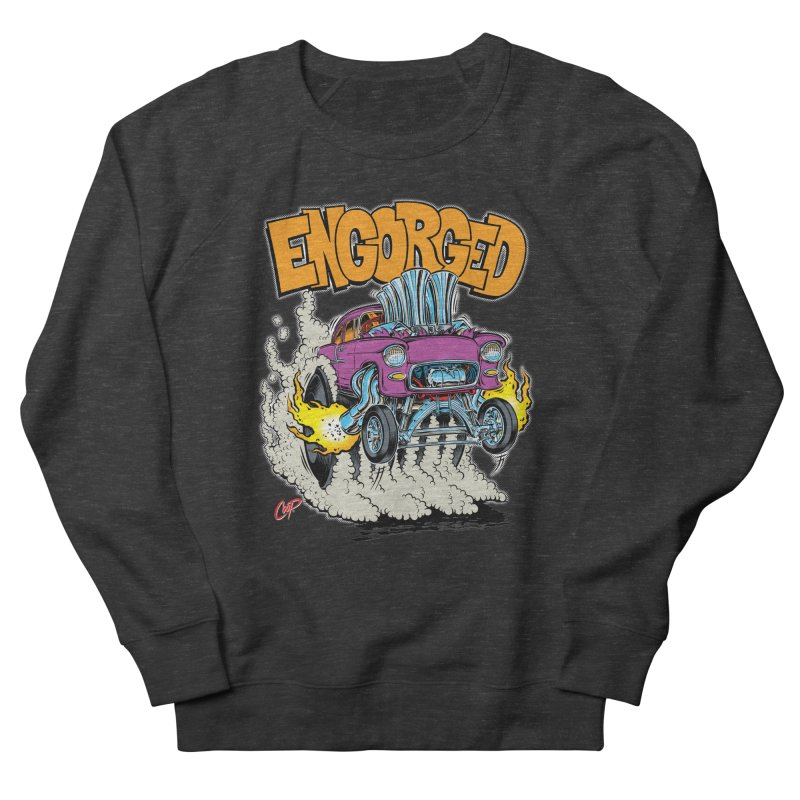 ENGORGED II Men's Sweatshirt by artofcoop's Artist Shop