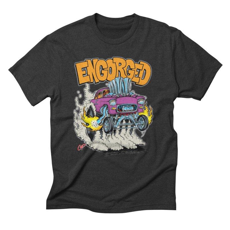ENGORGED II Men's Triblend T-Shirt by artofcoop's Artist Shop