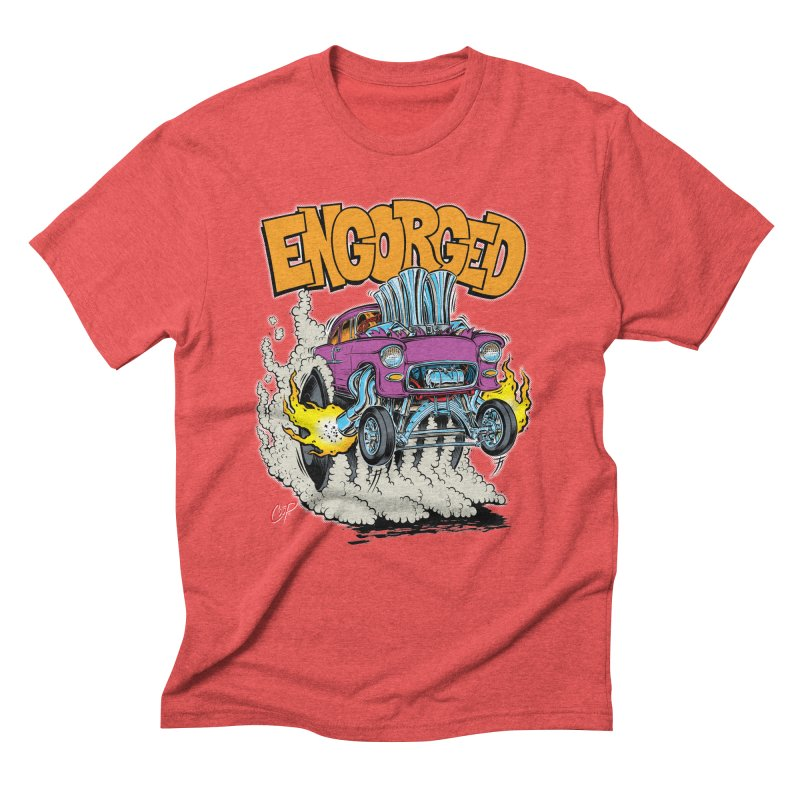 ENGORGED II Men's Triblend T-Shirt by artofcoop's Artist Shop