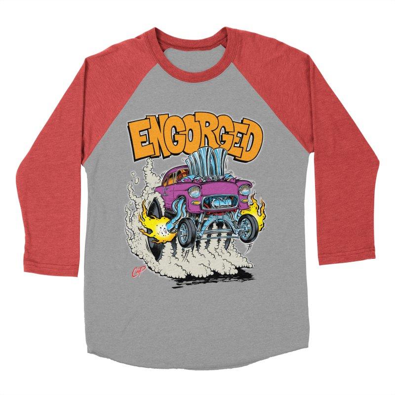 ENGORGED II Women's Baseball Triblend T-Shirt by artofcoop's Artist Shop