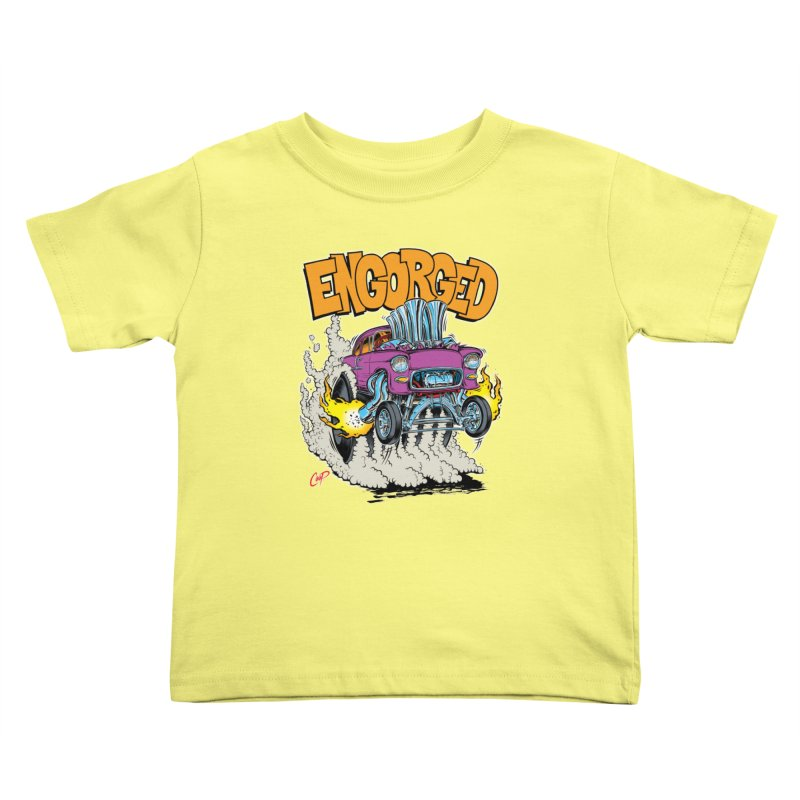 ENGORGED II Kids Toddler T-Shirt by artofcoop's Artist Shop