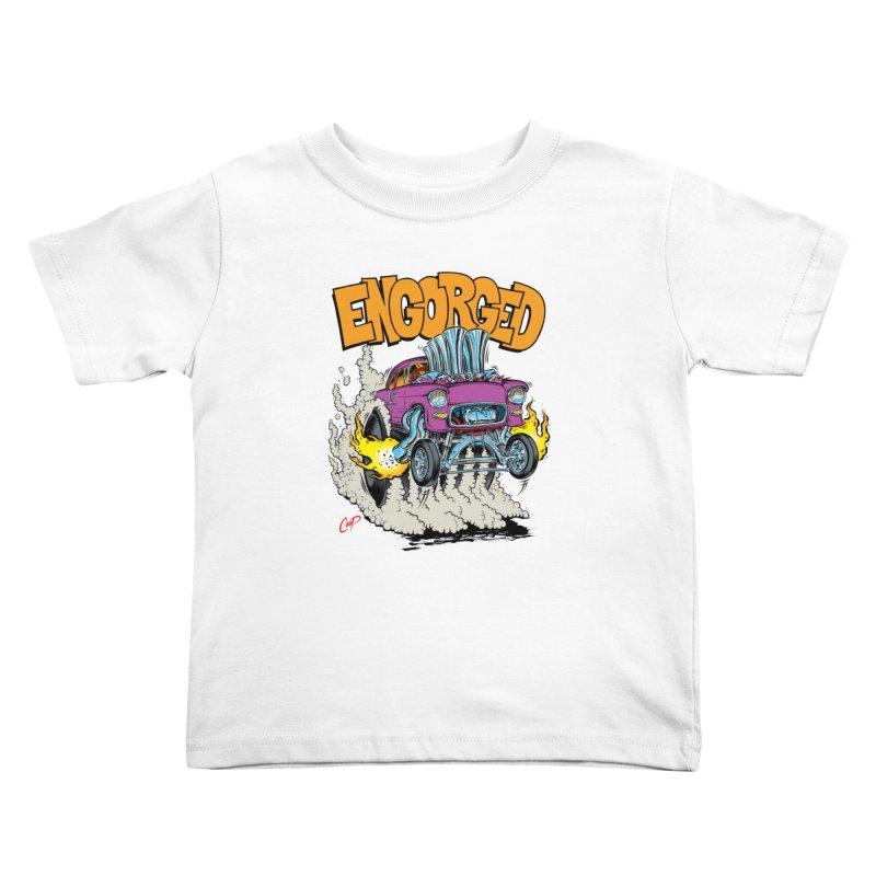 ENGORGED II Kids Toddler T-Shirt by artofcoop's Artist Shop