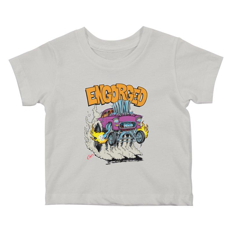 ENGORGED II Kids Baby T-Shirt by artofcoop's Artist Shop