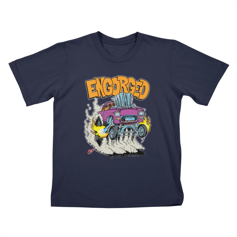 ENGORGED II Kids T-Shirt by The Art of Coop