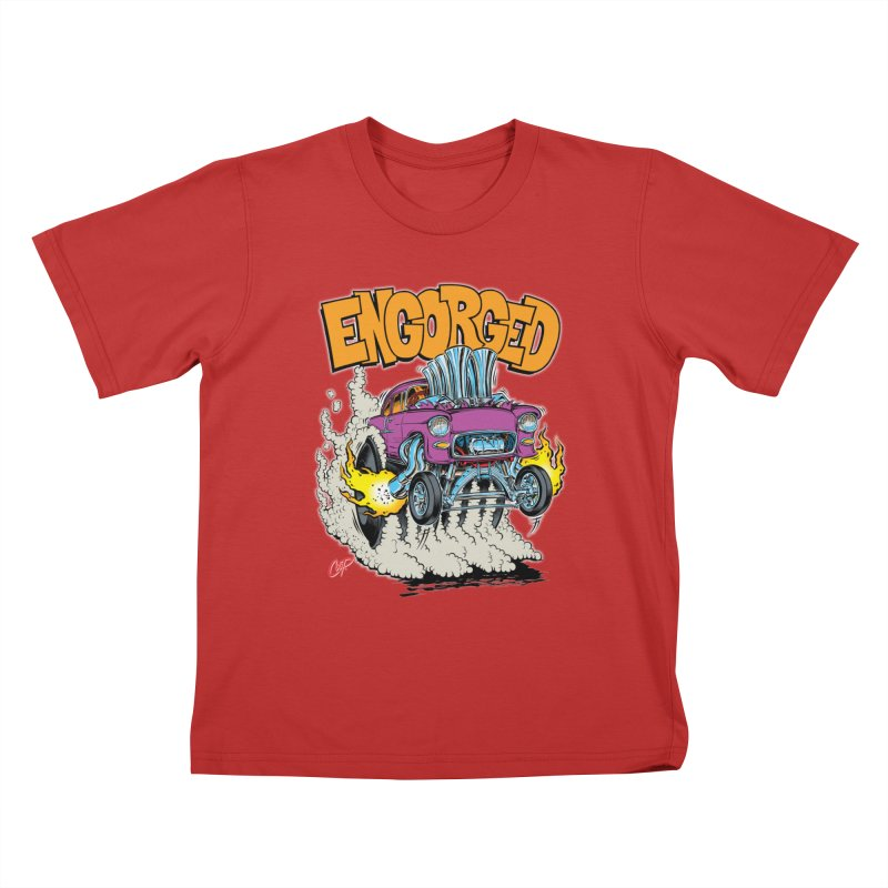 ENGORGED II Kids T-shirt by artofcoop's Artist Shop