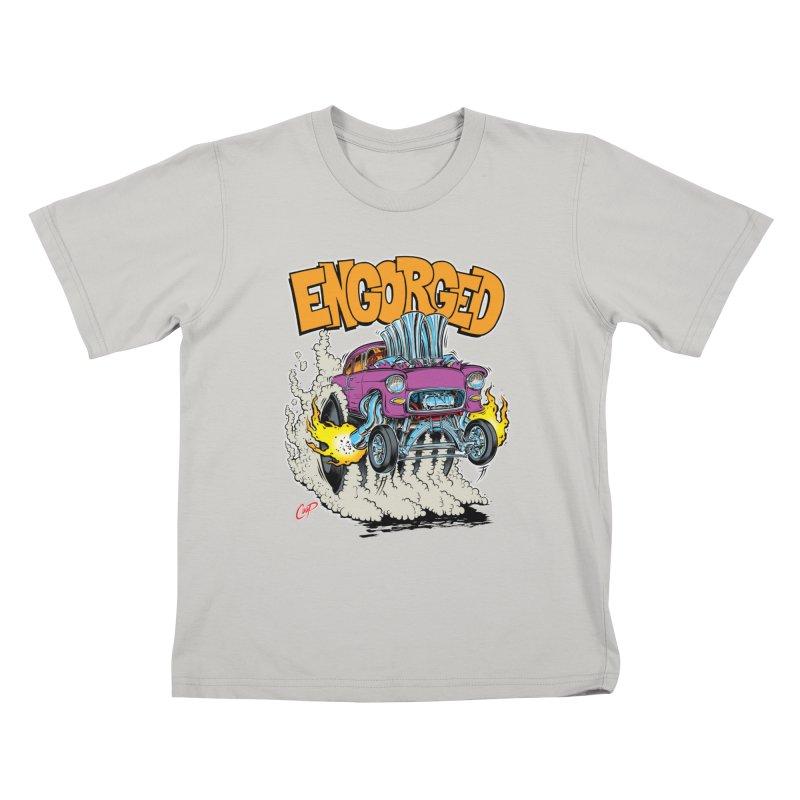 ENGORGED II Kids T-shirt by artofcoop's Artist Shop