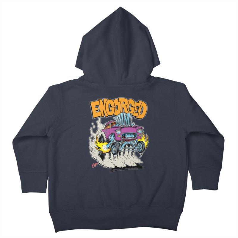 ENGORGED II Kids Toddler Zip-Up Hoody by artofcoop's Artist Shop