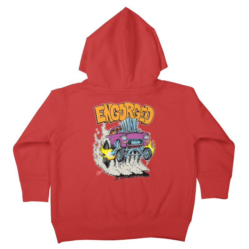 ENGORGED II Kids Toddler Zip-Up Hoody by The Art of Coop