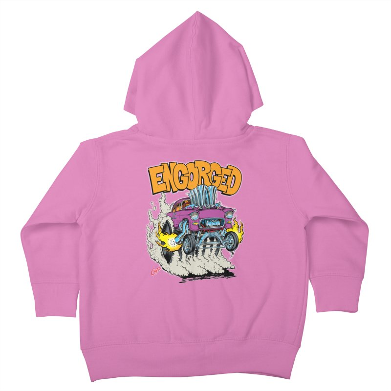 ENGORGED II Kids Toddler Zip-Up Hoody by artofcoop's Artist Shop