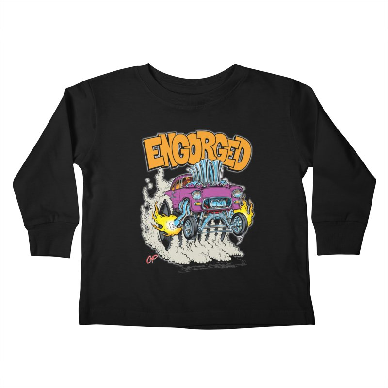 ENGORGED II Kids Toddler Longsleeve T-Shirt by artofcoop's Artist Shop