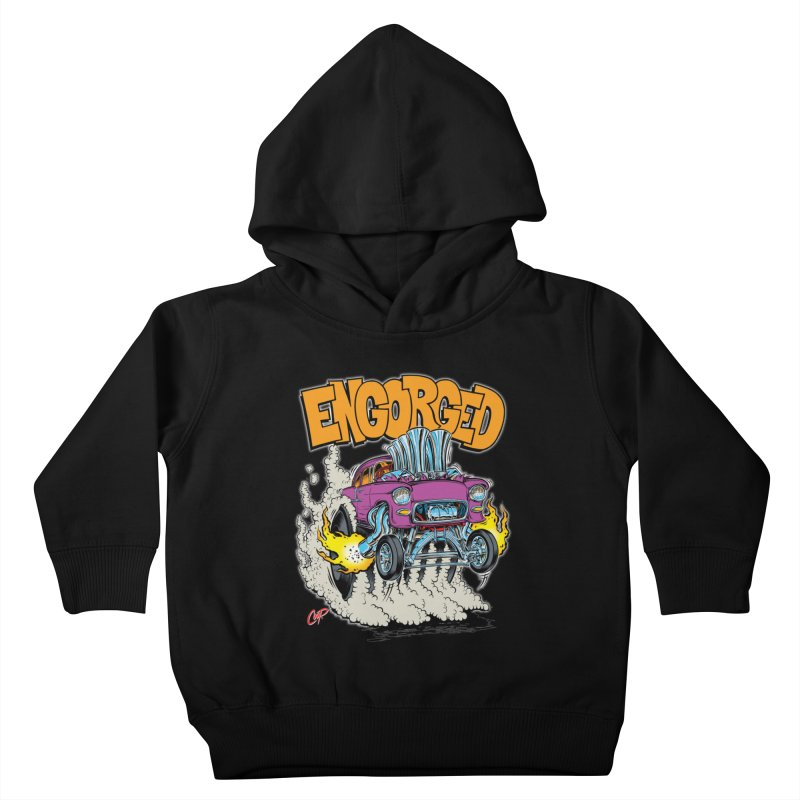 ENGORGED II Kids Toddler Pullover Hoody by artofcoop's Artist Shop