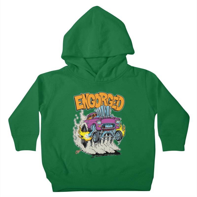 ENGORGED II Kids Toddler Pullover Hoody by The Art of Coop