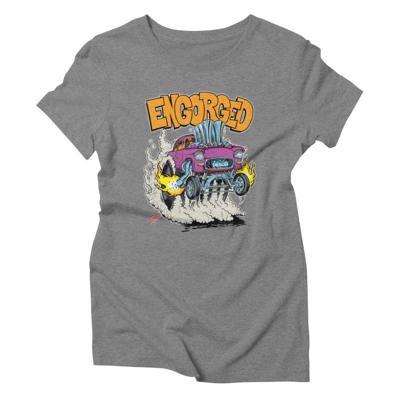 ENGORGED II Women's Triblend T-Shirt by artofcoop's Artist Shop