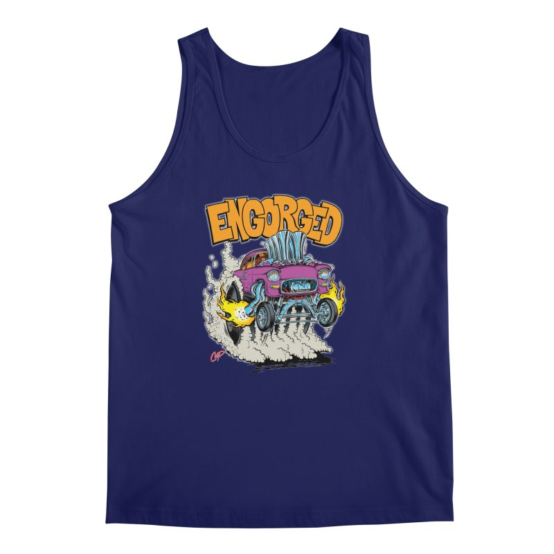 ENGORGED II Men's Tank by artofcoop's Artist Shop