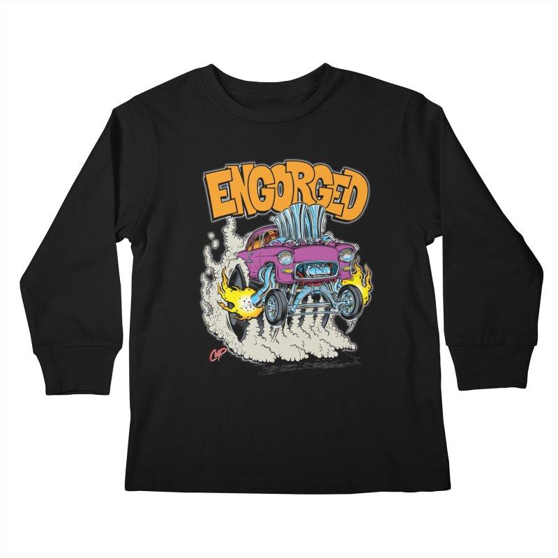 ENGORGED II Kids Longsleeve T-Shirt by artofcoop's Artist Shop