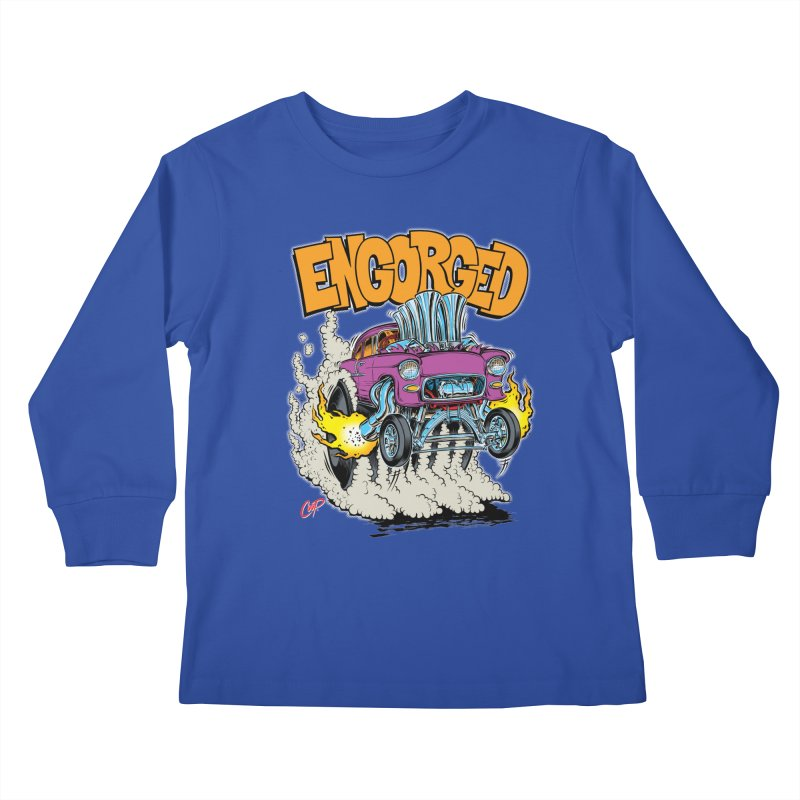 ENGORGED II Kids Longsleeve T-Shirt by artofcoop's Artist Shop