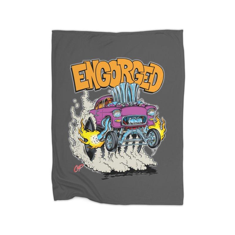 ENGORGED II Home Blanket by artofcoop's Artist Shop