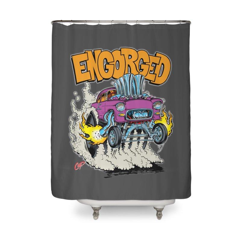 ENGORGED II Home Shower Curtain by artofcoop's Artist Shop