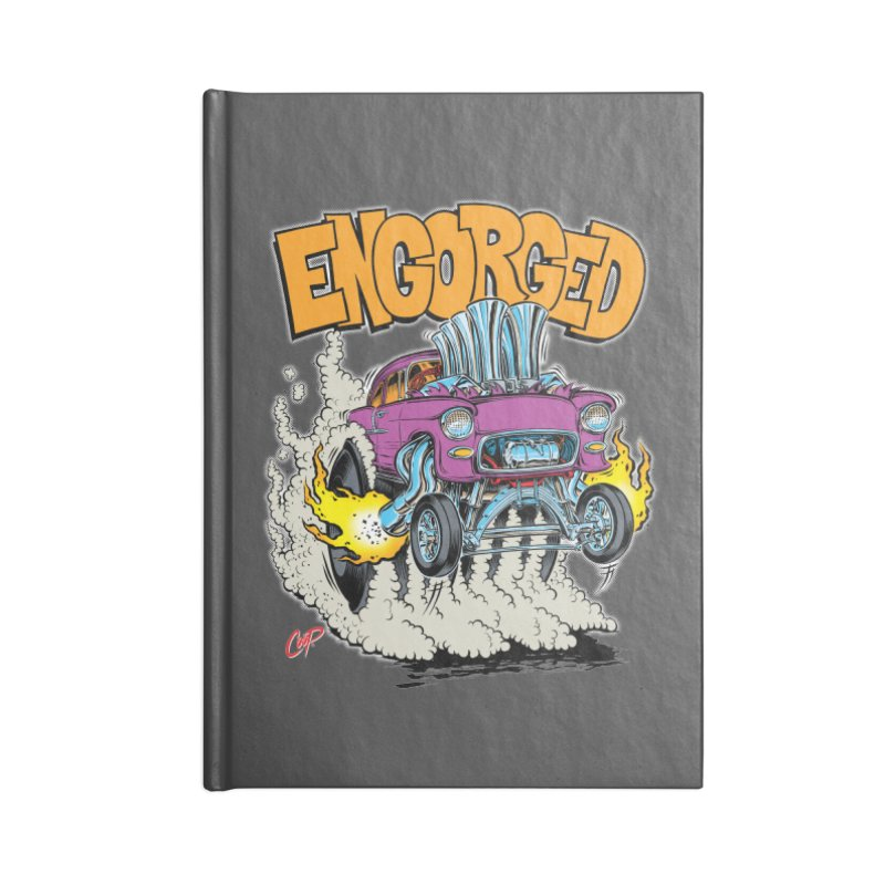 ENGORGED II Accessories Notebook by artofcoop's Artist Shop
