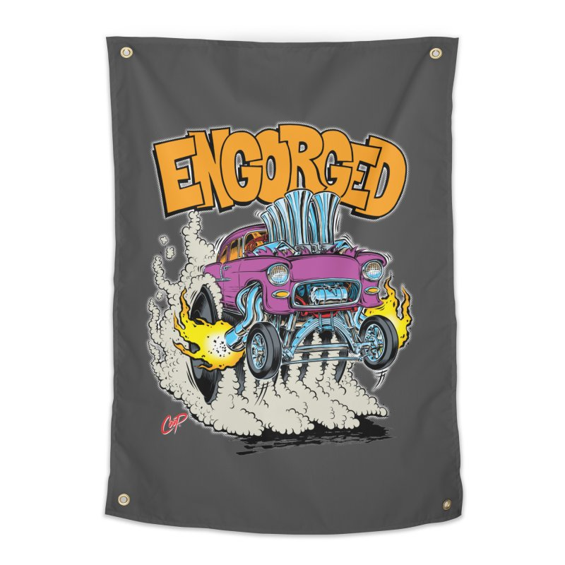ENGORGED II Home Tapestry by artofcoop's Artist Shop