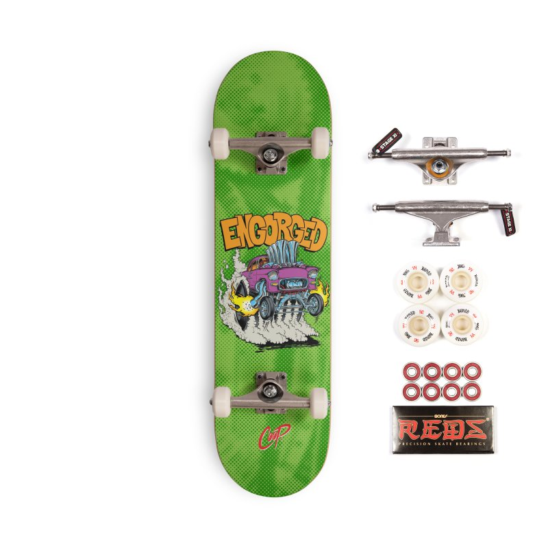ENGORGED II Accessories Complete - Pro Skateboard by The Art of Coop