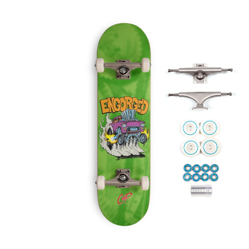 ENGORGED II Accessories Complete - Basic Skateboard by The Art of Coop