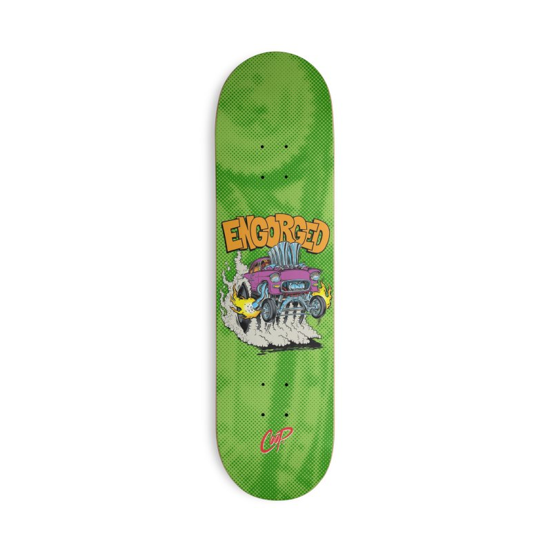 ENGORGED II Accessories Deck Only Skateboard by The Art of Coop
