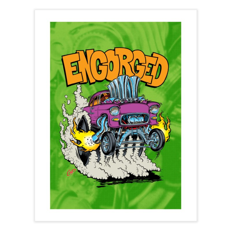 ENGORGED II Home Fine Art Print by artofcoop's Artist Shop